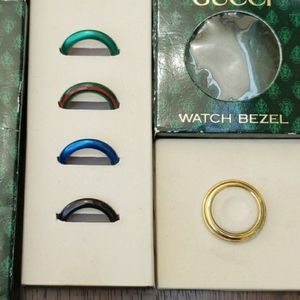 $23 Gucci Watch Bezels 5 in total
